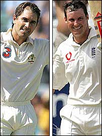 Justin Langer and Andrew Strauss