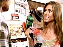 Jennifer Aniston in Barclaycard ad