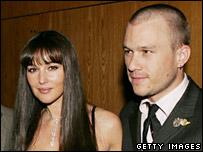 Monica Belluci and Heath Ledger