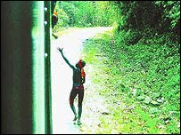 Jarawa people. Credit: Indian government website