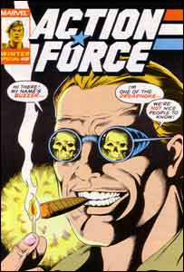 Colllins' work for Marvel has included covers for the Action Force comic