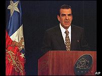 El ex presidente de Chile, Eduardo Frei