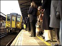 Rail travellers