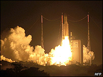 Image of Ariane 5-Generic taking off from Kourou