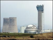 Sellafield complex in Cumbria