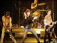 The Rolling Stones at Toronto's Phoenix Theatre