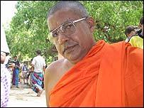 Chief monk Dunagama Gnanasiri Tissa