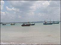 Paranakada harbour