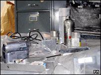 Equipment seized