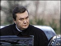 Former Ukrainian Prime Minister Viktor Yanukovych