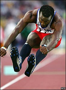 Atleta cubano Yoandri Betanzos.
