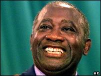 Ivory Coast President, Laurent Gbagbo