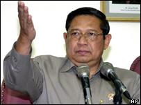 Indonesian President, Susilo Bambang Yudhoyono