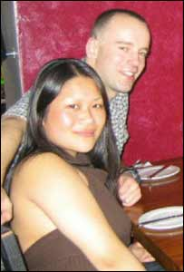Dominic Stephenson, 27, and Eileen Lee, 24