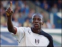 Fulham's Luis Boa Morte
