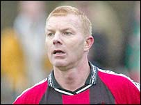 Crusaders manager Alan Dornan