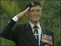 Veteran salute