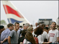 Passengers affected by the BA walkout