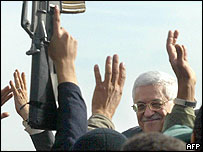 Mahmoud Abbas visits Rafah in Gaza