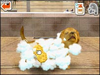 Screenshot from Nintendogs