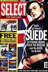 Select magazine's April 1993 issue