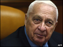 Israeli PM Ariel Sharon