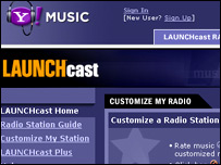 Yahoo Launchcast