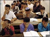 Escuela de niños de la comunidad Bnei Menashe