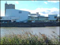 Riverfront Arts Centre in Newport