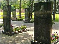 Kursk war cemetery