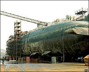 Wreck of Kursk