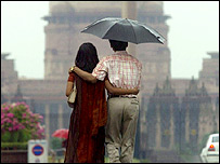 Couple in Delhi