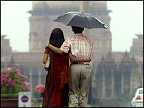 Couple in Delhi