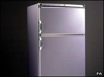 A fridge freezer developed by Hoover