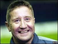 Hearts head coach John Robertson