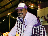 Desi Bouterse, former leader of Surinam (file image)