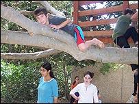Hijos de colonos judíos