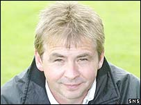Elgin City assistant Kenny Black