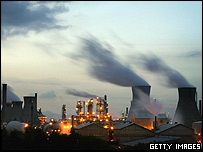 BP refinery in Grangemouth