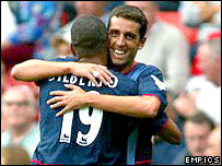 Gilberto Silva and Edu have worked well together at Arsenal