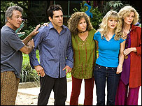 The cast of Meet the Fockers 