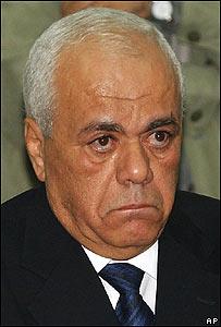 Tayeb Abdel Rahim, secretario general del Gabinete de la Autoridad Nacional Palestina