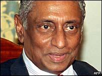 Former Sri Lankan Foreign Minister Lakshman Kadirgamar