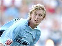 Former Coventry defender Calum Davenport
