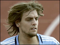 Real Madrid defender Jonathan Woodgate