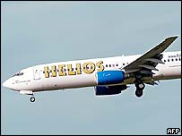 Helios 737 file picture