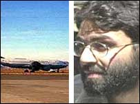 Indian airliner hijacked to Kandahar and Ahmed Omar Saeed Sheikh