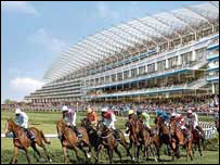 How racing will look at the revamped Ascot course