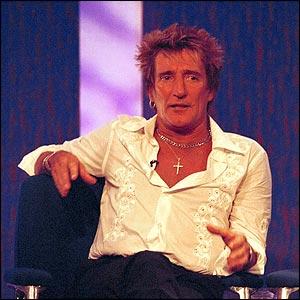 Rod on Parkinson in 2001