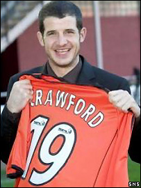 Crawford is delighted to be back in the SPL